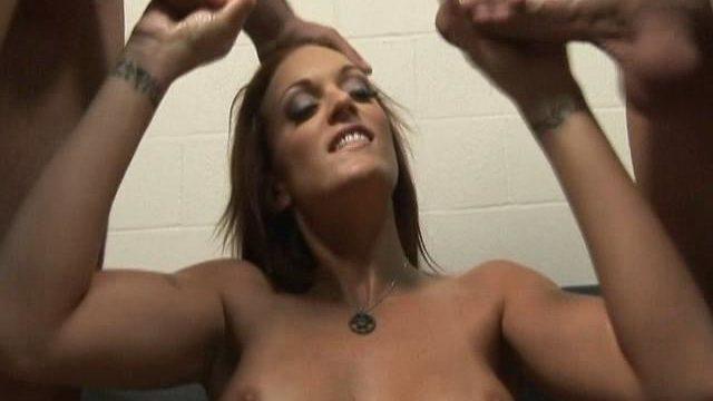 Monica Mayhem Wanks Off 2 Hard-ons Whilst Dressed In Handiest Her Milky Hooter-sling